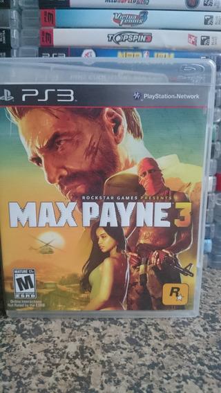 Max Payne 3 Ps3 Midia Fisica-frete R$10