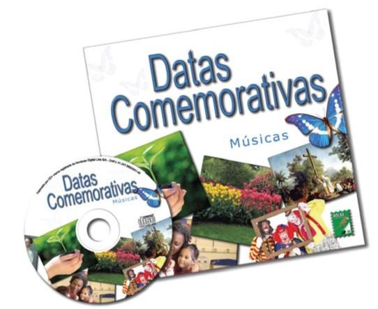 Livro Cd Datas Comemorativas