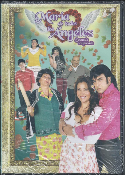 María De Todos Los Ángeles Temporada 2 Dvd Nacional