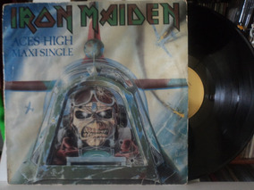 Lp-vinil:iron Maiden:aces High:heavy Metal:bruce Dickinson