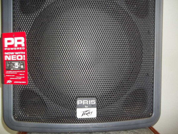 Powred,bi-amplified,two-way Espeaker System Peavey Usa
