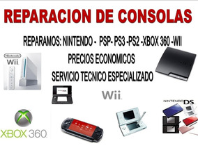 Servicio Tecnico Para Ps3, Ps4,reballing ,ps2 Ps1 Xbox Wii