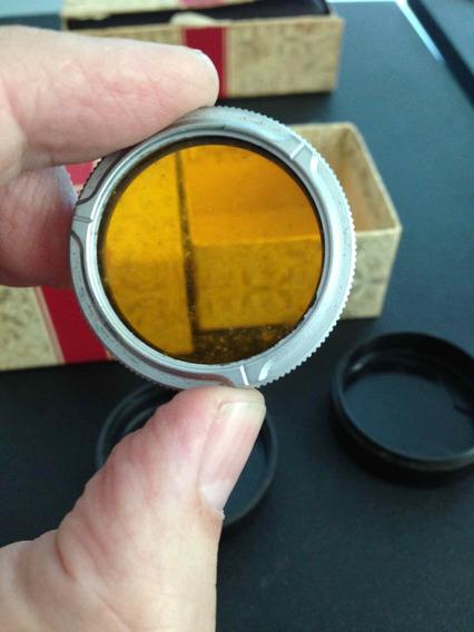 Filtro Para Rolleiflex No Estojo E Caixa Original