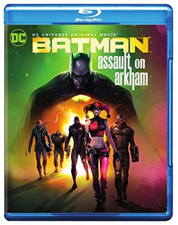 Blu-ray : Batman: Assault On Arkham (with Dvd, Ultraviol...
