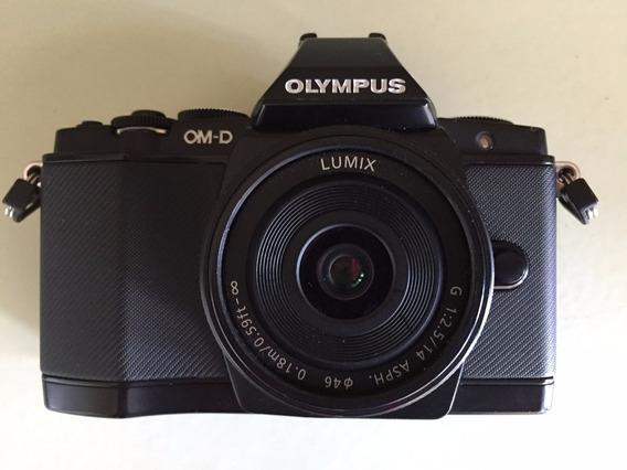 Camera Olympus Om-d E-m5 Sem Lente, Só Corpo