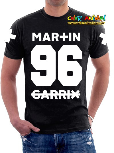 Remera Martin Garrix Color Animal