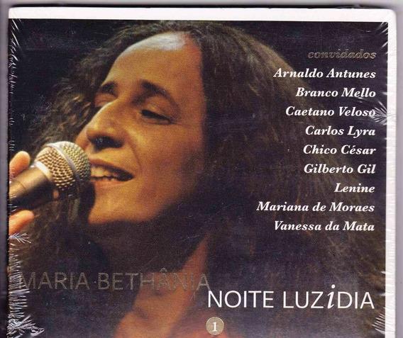 Maria Bethânia: Cd Noite Luzidia 1- Lacrado
