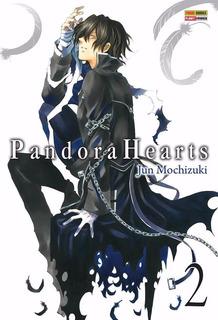 Pandora Hearts 2! Mangá Panini! Novo E Lacrado!