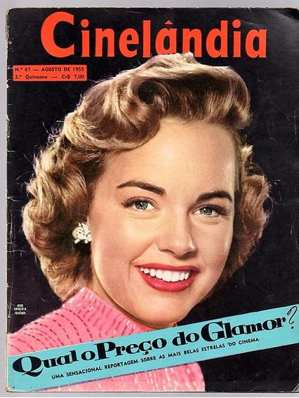 Revista Cinelandia Nº 67 - Tony Curtis - Lana Turner - 1955