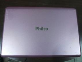 Tampa Da Carcaça Notebook Philco(rosa) - Usado