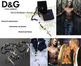 Terço David Beckham Rosario Dolce & Gabbana C/ Caixa E Saco