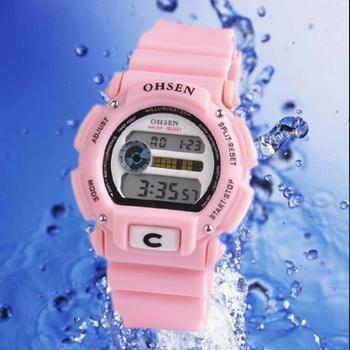 Relógio De Pulso Analógico Ohsen 1121 Feminino