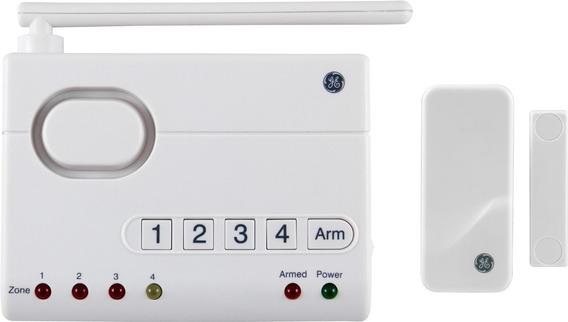 Central Segurança Residencial Sem Fio E Sensor Ge 45142