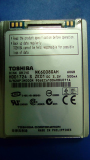 Toshiba Mk6008gah - Disco Duro iPod