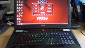 Notebook Gamer Msi Gtx780m
