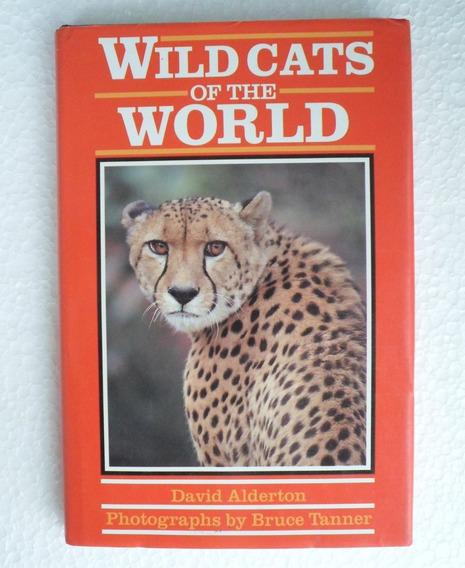 Livro Wildcats Of The World - Felinos Selvagens - Ilustrado
