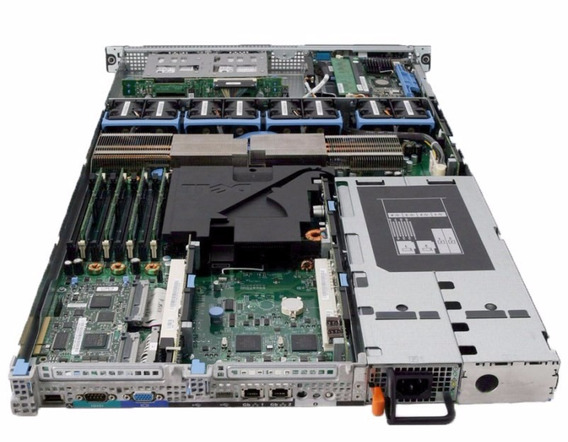 Servidor Dell 1950 2x Xeon Quad 16gb Hd Sas Parcelado