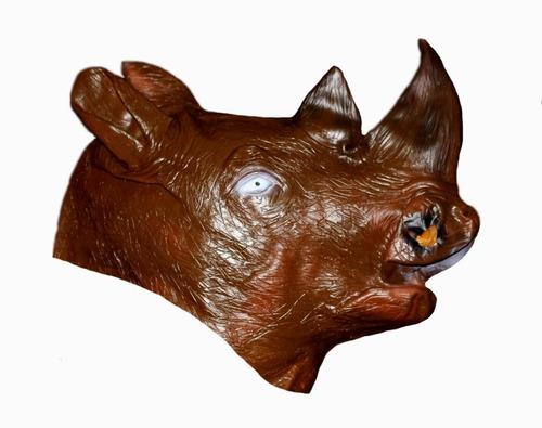 Mascara De Rinoceronte De Latex Cafe