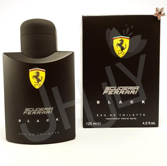 Perfume Ferrari Black 125ml Oferta Frete Grátis Nota Fiscal