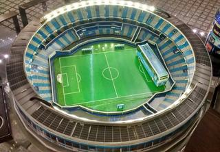 Maqueta Estadios 3d Ya Armada! Cancha De Racing El Cilindro!