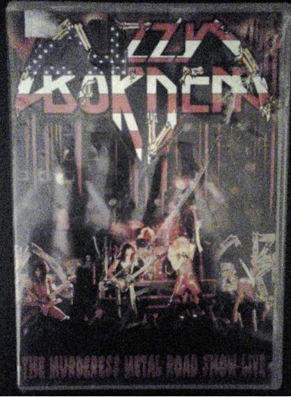 Lote 2 Dvds Heavy Metal (iron Maiden & Lizzy Borden)