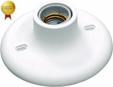 11 Plafon Plafonier Com Soquete Bocal Porcelana P/ Lâmpada