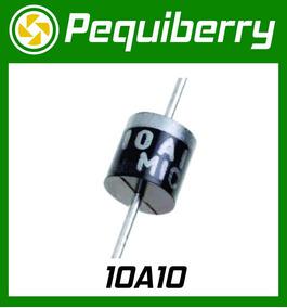10x Diodo 10a10 1000v 10 Ampéres