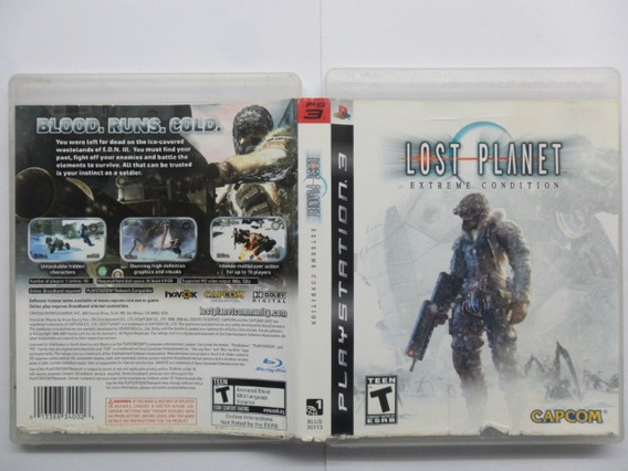 Frete Grátis Lost Planet Extreme Condition Ps3 (dvd)