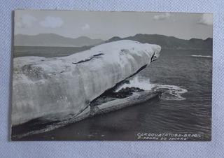 Cartão Postal Pedra Do Jacaré Caraguatatuba