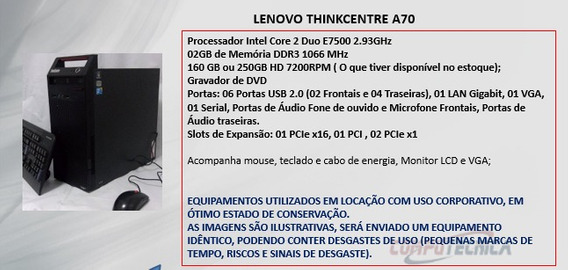 Computador Lenovo Thinkcentre A70