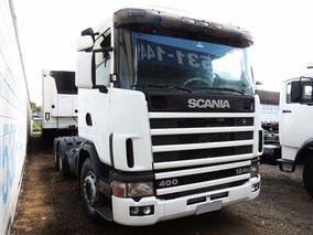 Scania R124 400 2003 Cavalo 6x2, Sb Veículos