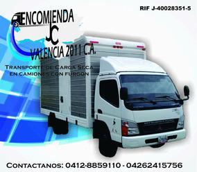 Transporte , Encomiendas , Fletes , Viajes, Mudanzas ...