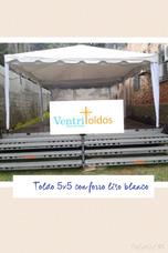 Alquiler De Toldo 3x3,5x5,5x3,5x10,8x12 Liso O Arruchado