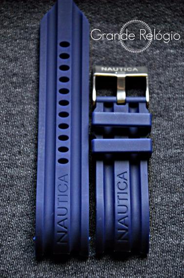 Pulseira Nautica 24mm Azul