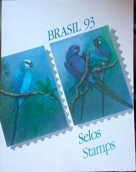 V-8514 - 1993 - Album De Selos Do Brasil - Sem Selos