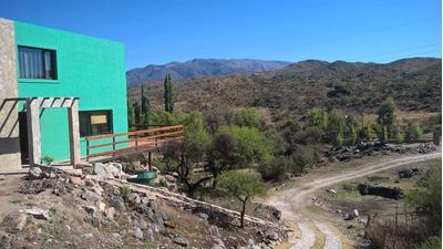 Alquiler De Casa Cabaña En Potrero De Los Funes Para 6 O 4