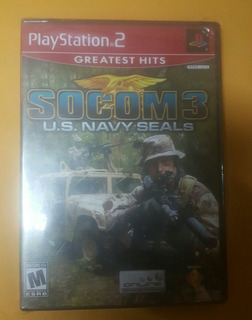 Juego Playstation 2 Socom 3 (sellado)