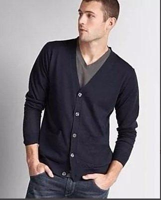 Patrones Imprimibles De Sweater Cardigan Dama Y Caballero