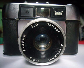 Camera Halinar Anastigmat - Não Testada Com Filme - Com Capa