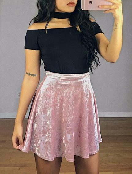 Falda De Terciopelo. Velvet Skirt