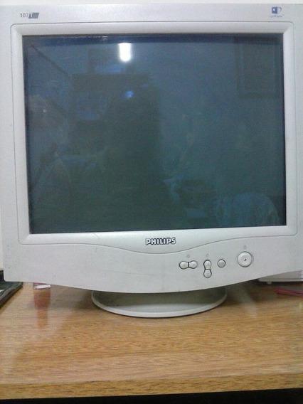 Computadora Lg Mas Monitor Philips De 17 Pulgads Usada