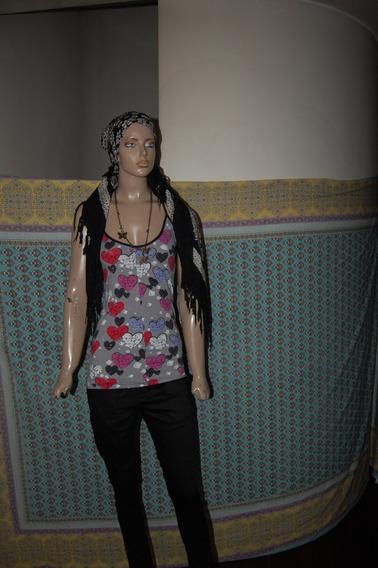 Jazmin Chebar Modelo Cuore Estampada Promo
