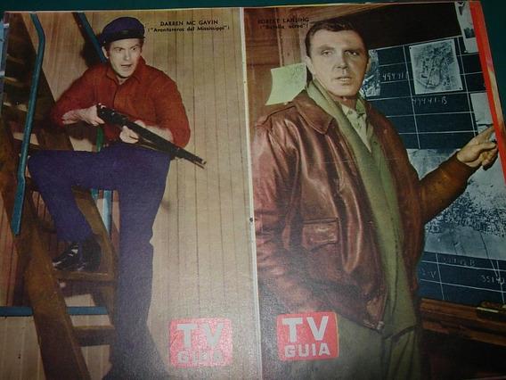 Batalla Aerea Mississipi Poster Original Tv Guia Television