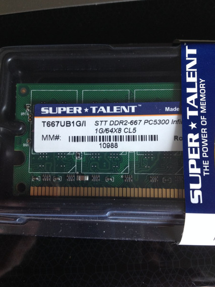 Super * Talento T667ub1g/i Memory