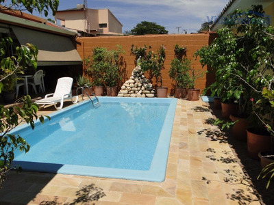 Casa Residencial À Venda, Barão Geraldo, Campinas - Ca0870. - Ca0870