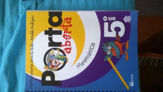 Livro De Matemática Porta Aberta 5º Ano