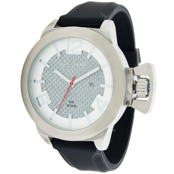 Relógio Masculino Analógico Com Calendário Surfmore 3529259m