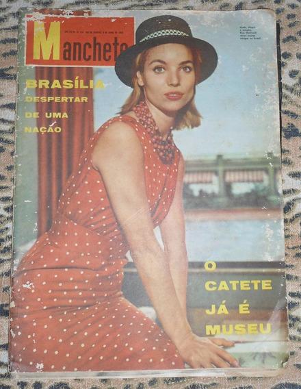 Revista Manchete De Quando O Catete Virou Museu 1960