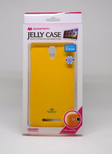 Funda Xiaomi Note2 Mercury Goospery Jelly Case Amarillo