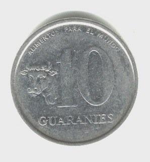 10 Guaranies 1978 Fao